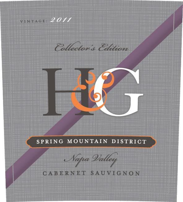 H & G Spring Mountain District Cabernet Sauvignon 2011 Front Label