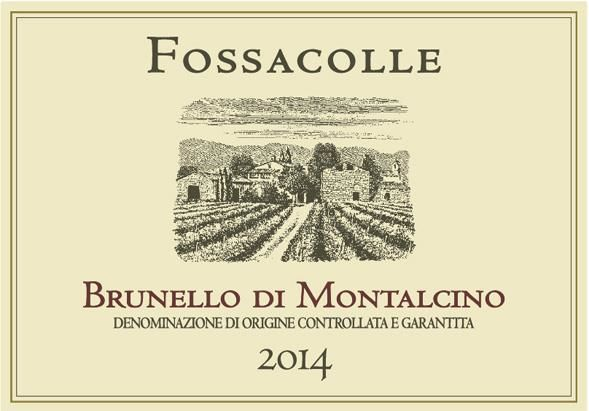 Fossacolle Brunello di Montalcino 2014  Front Label