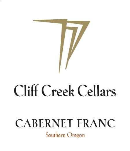 Cliff Creek winery Cellars Cabernet Franc 2012 Front Label