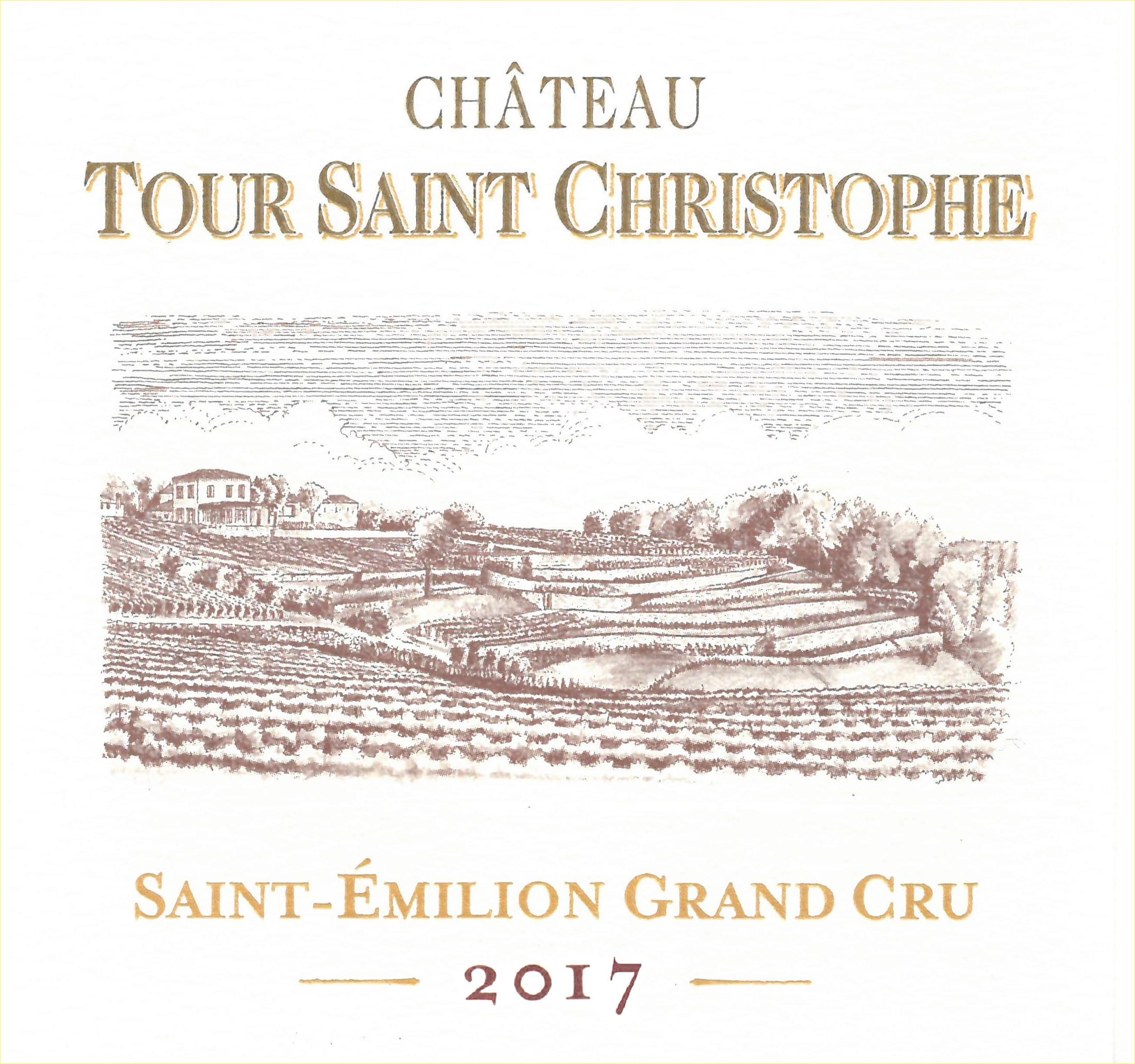 Tour Saint Christophe  2017  Front Label