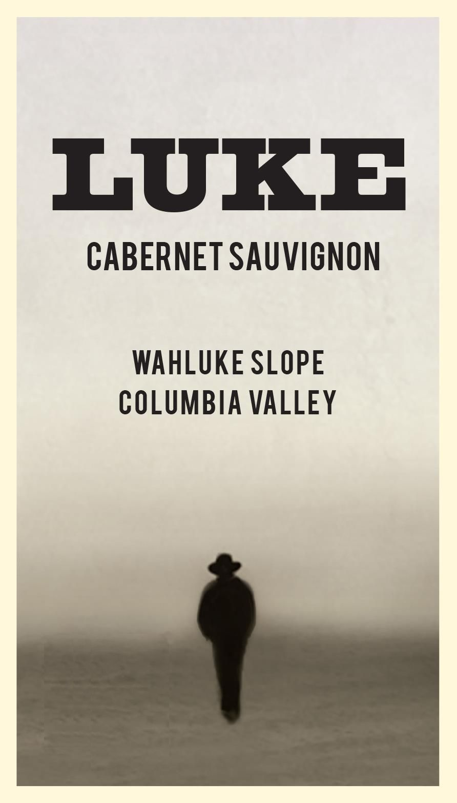 Luke Columbia Valley Cabernet Sauvignon 2016 Front Label