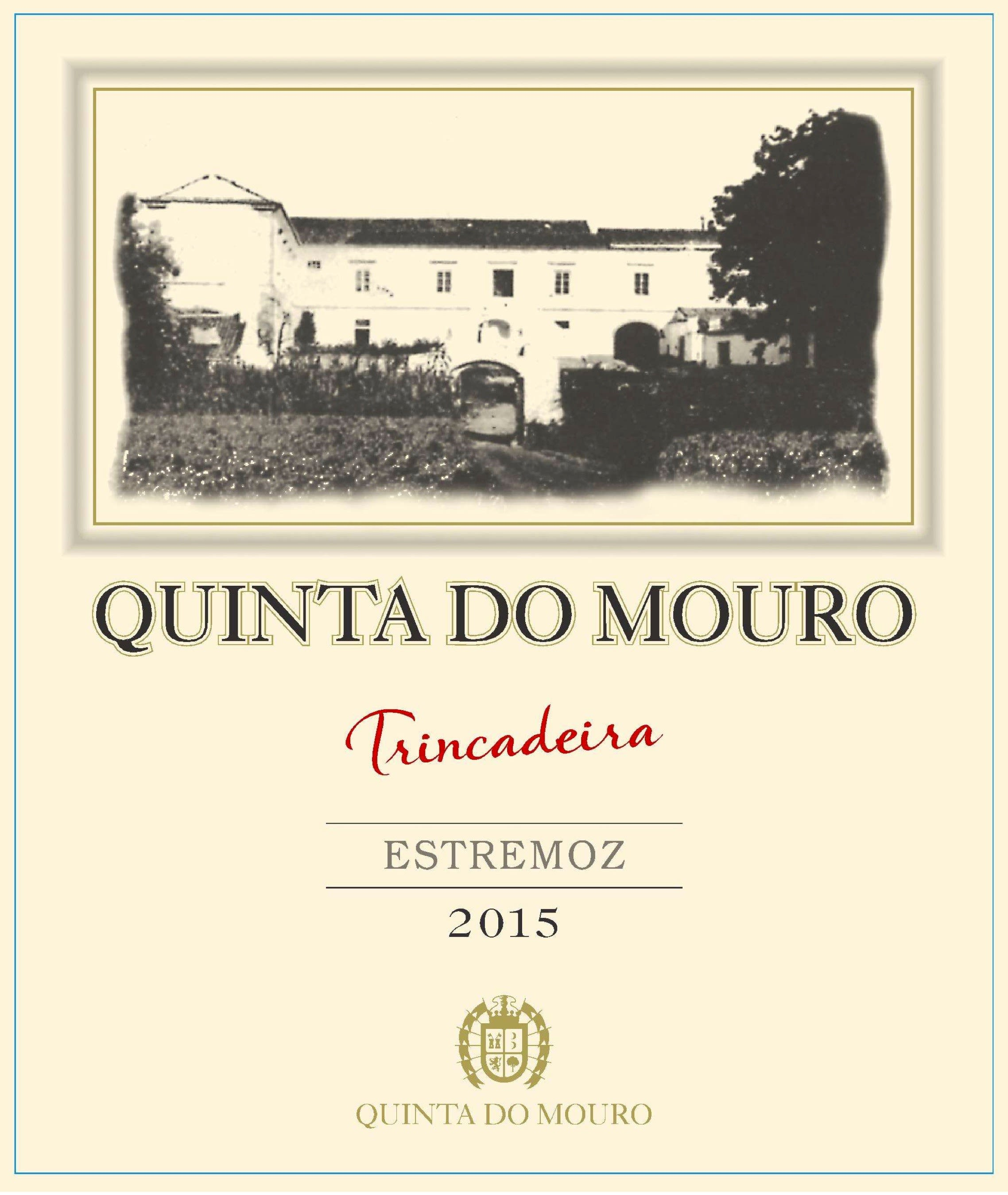 Quinta do Mouro Trincadeira 2015  Front Label