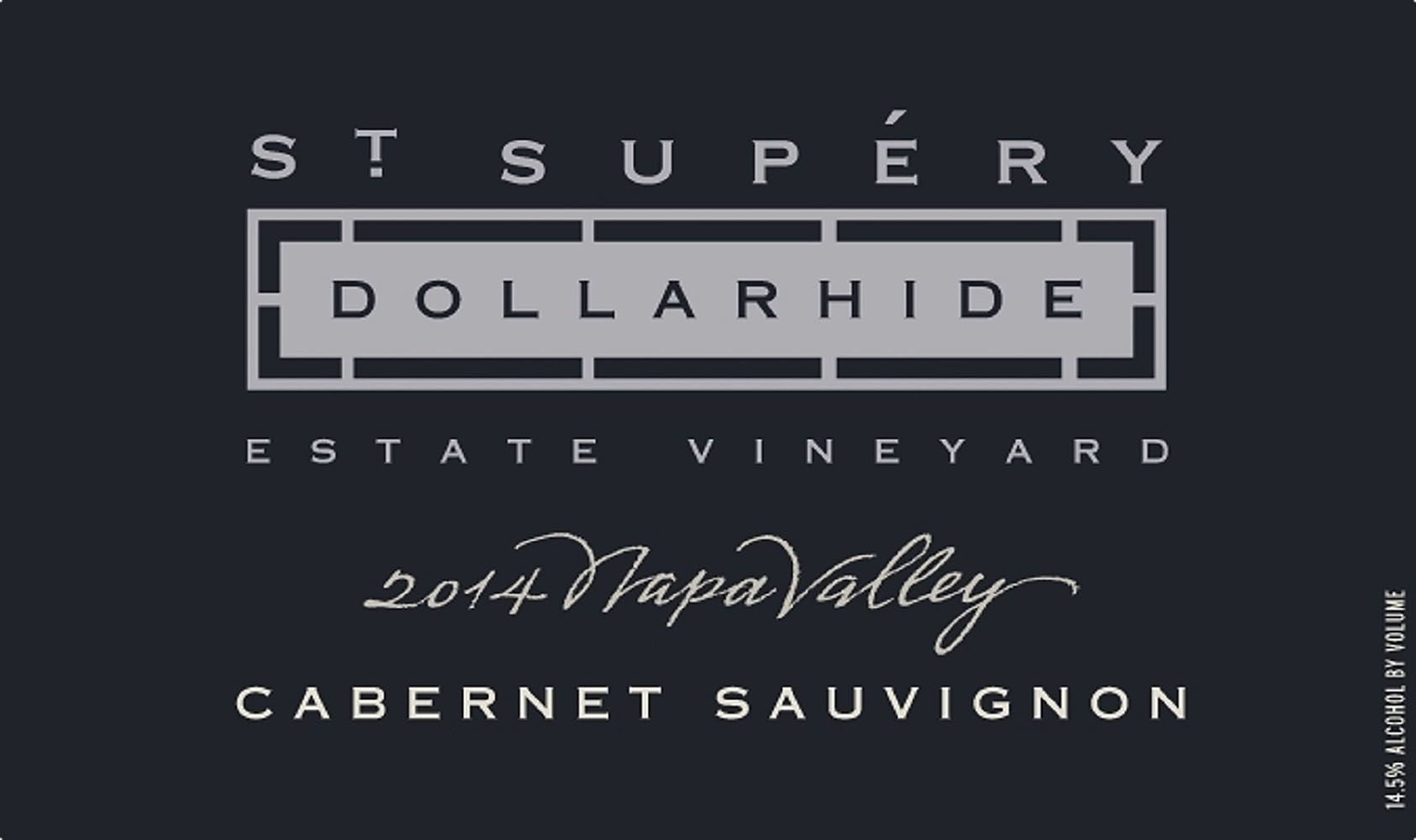 St. Supery Dollarhide Estate Cabernet Sauvignon 2014  Front Label