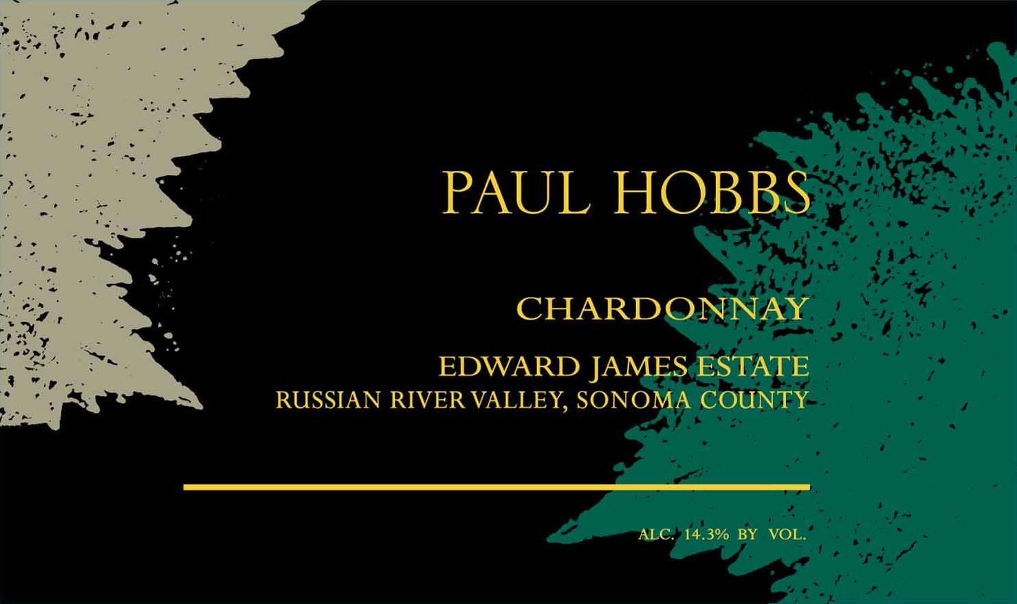 Paul Hobbs Edward James Chardonnay 2017  Front Label