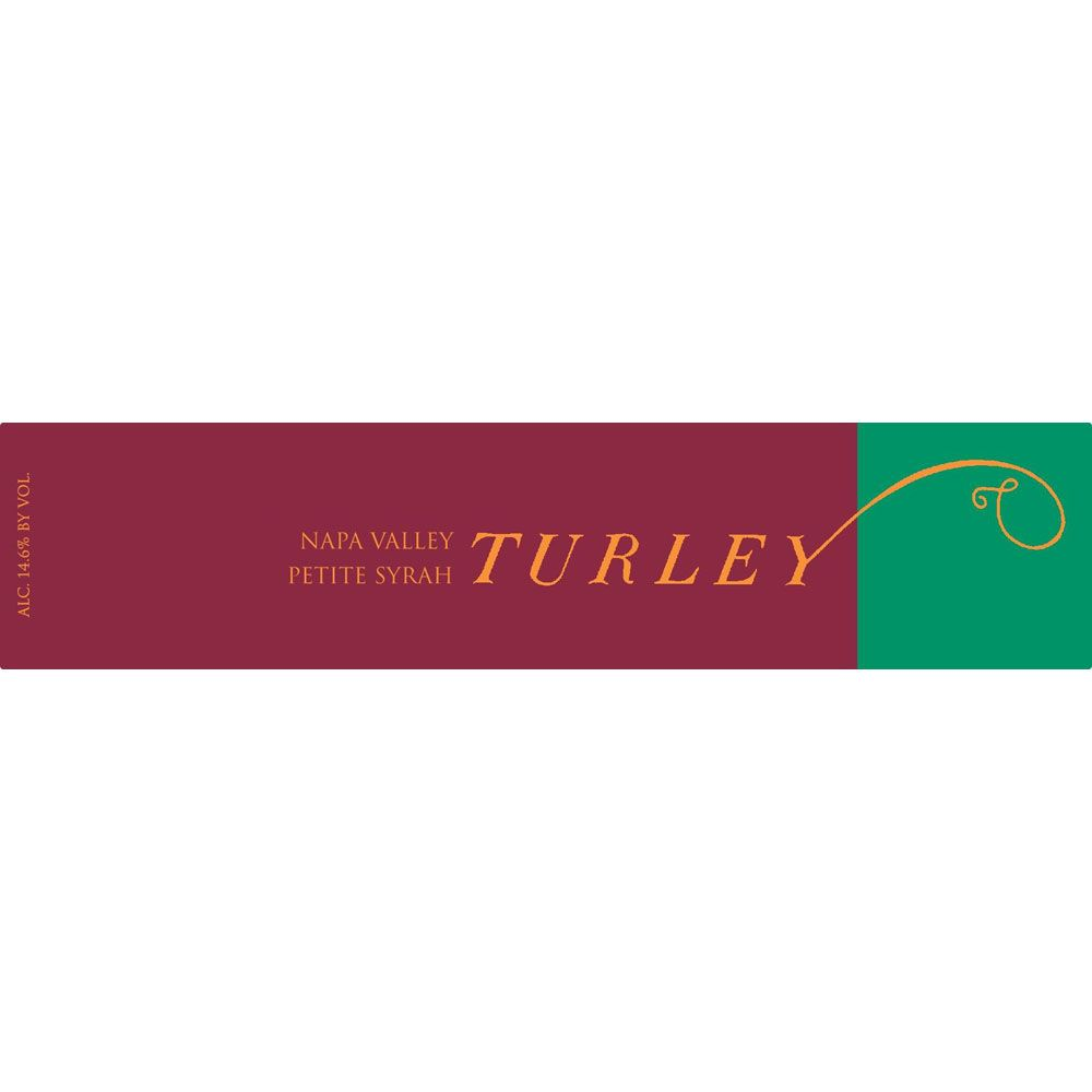 Turley Estate Petite Syrah 2017  Front Label
