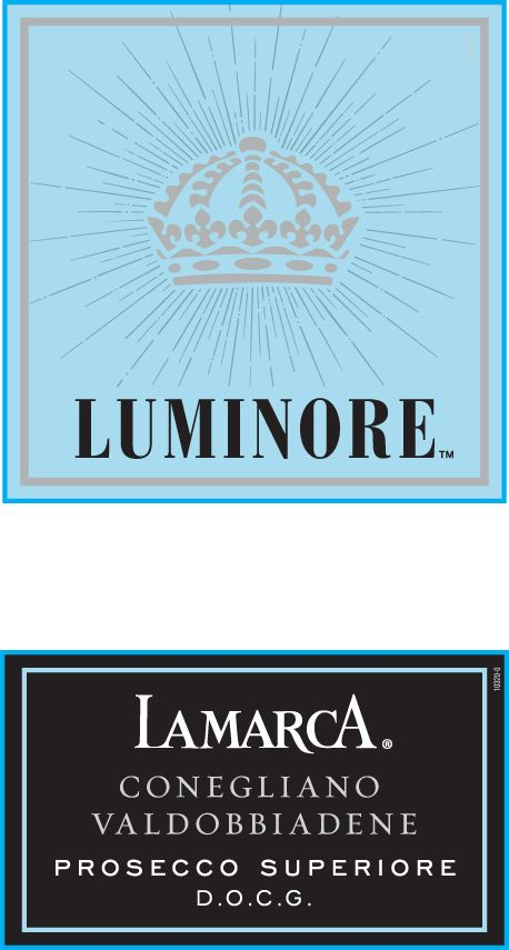 La Marca Luminore Prosecco Superiore Front Label
