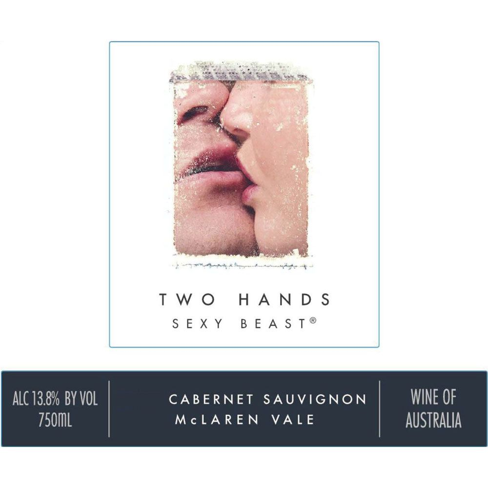 Two Hands Sexy Beast Cabernet Sauvignon 2018  Front Label