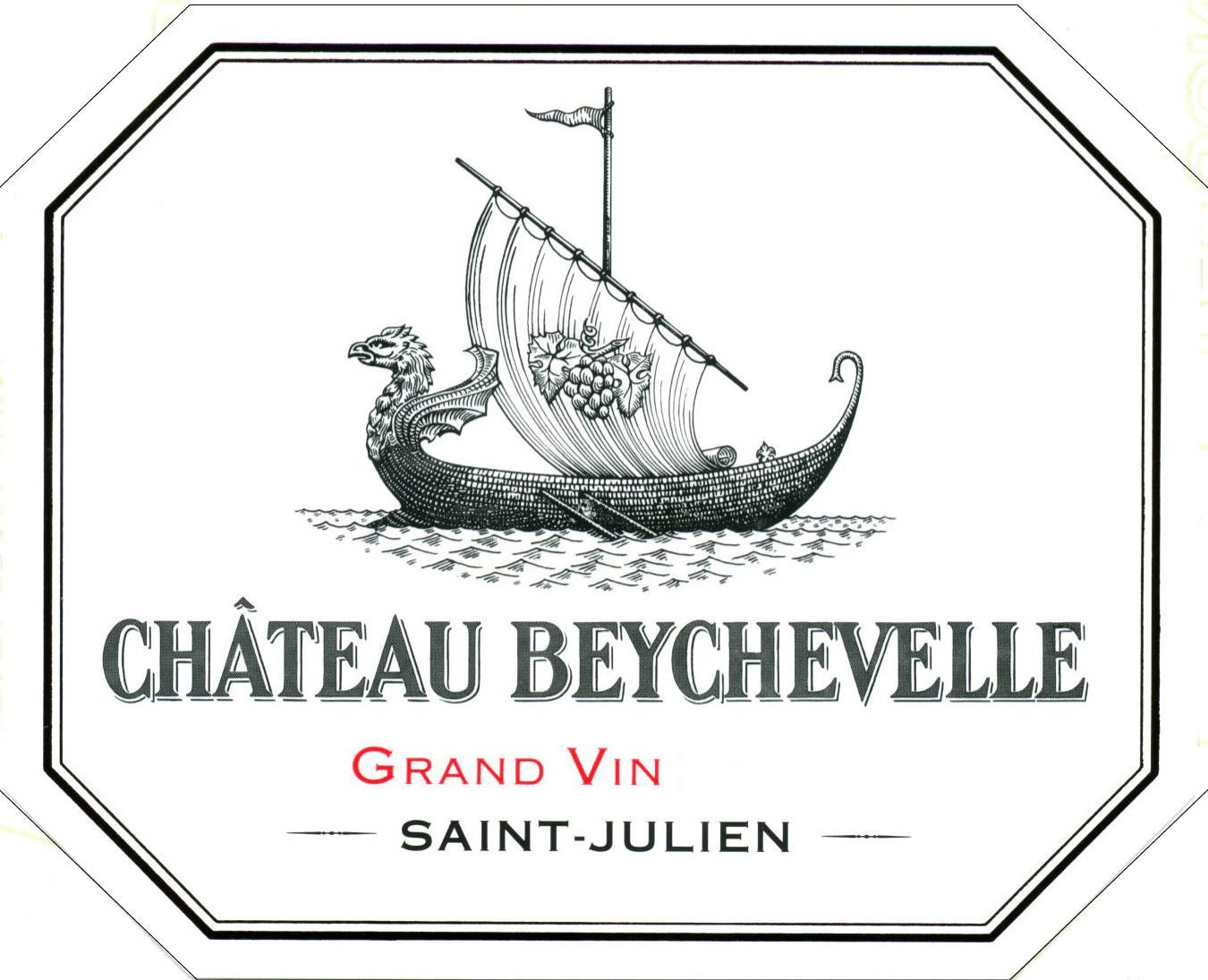 Chateau Beychevelle (1.5 Liter Futures Pre-Sale) 2018  Front Label