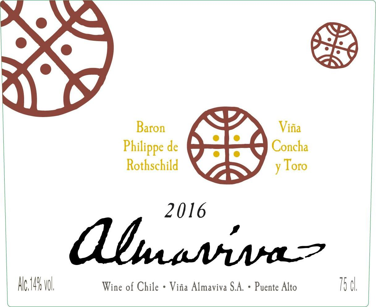 Almaviva Red (1.5 Liter Magnum) 2016  Front Label