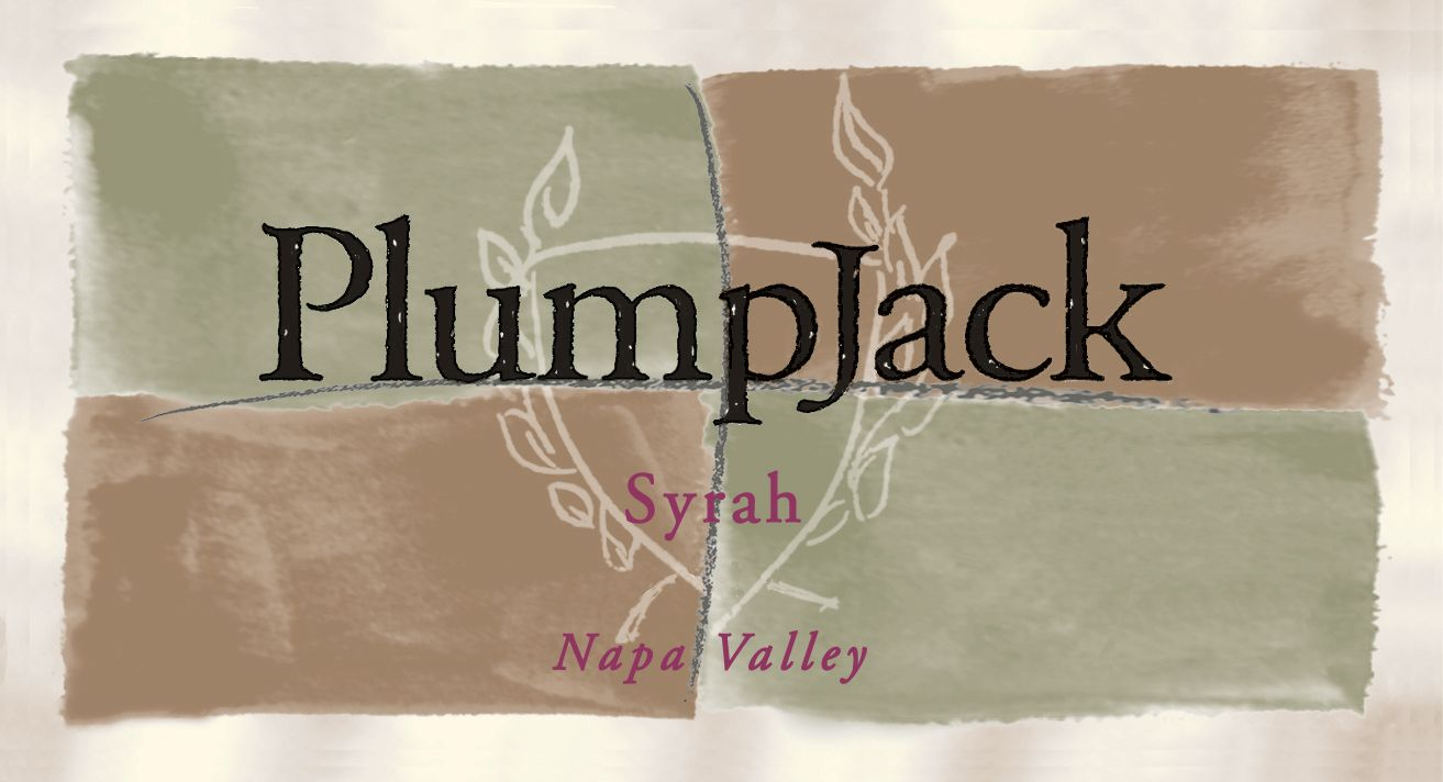 PlumpJack Syrah 2018  Front Label