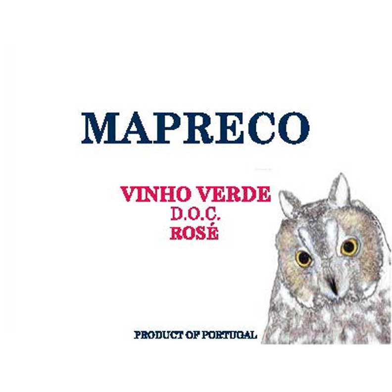 Mapreco Vinho Verde Rose 2018  Front Label