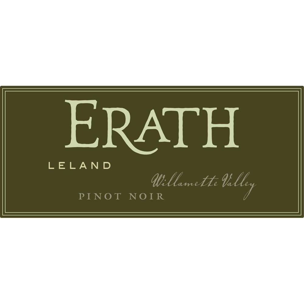 Erath Leland Vineyard Pinot Noir 2016  Front Label