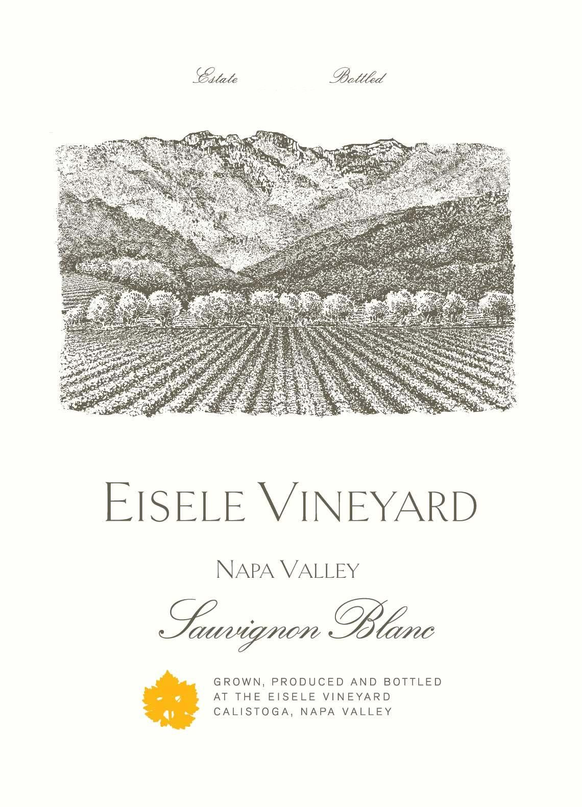 Eisele Vineyard Sauvignon Blanc 2018  Front Label