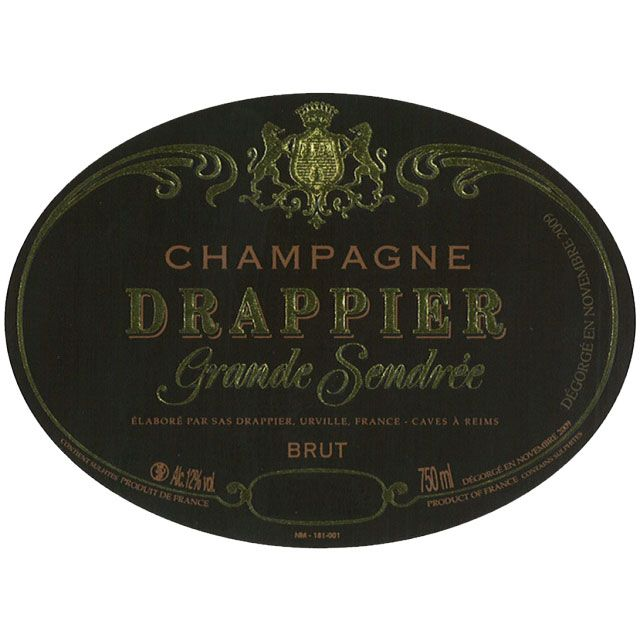 Drappier Grande Sendree Brut 2010  Front Label