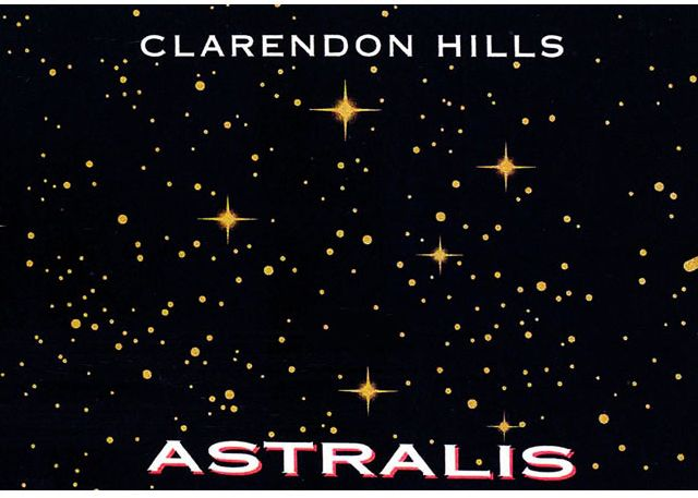 Clarendon Hills Astralis Syrah 1996  Front Label