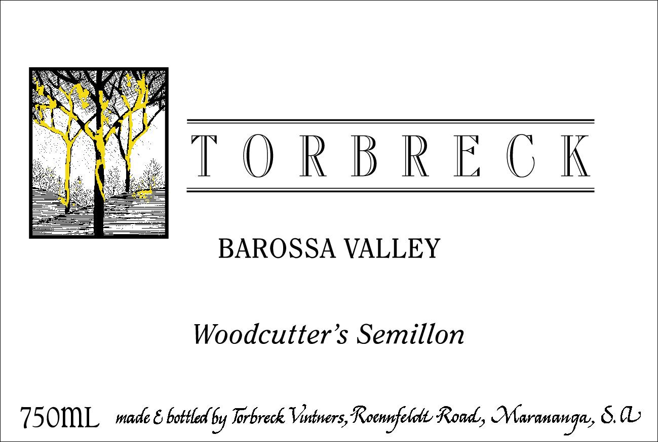 Torbreck Woodcutter's Semillon 2018  Front Label