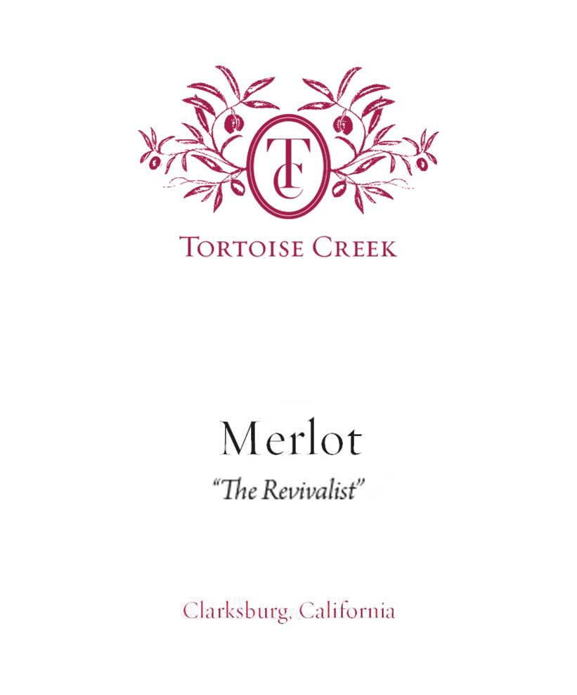 Tortoise Creek The Revivalist Merlot 2017  Front Label