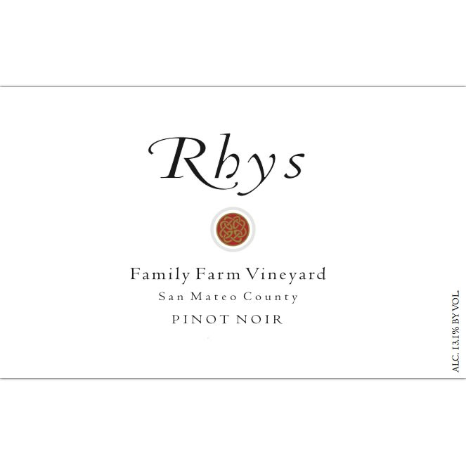 Rhys Vineyards Family Farm Vineyard Pinot Noir 2007  Front Label