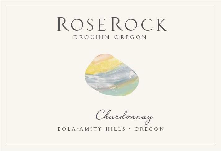 Roserock by Drouhin Oregon Eola-Amity Hills Chardonnay 2017  Front Label