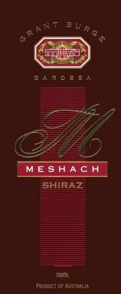 Grant Burge Meshach Shiraz 2001  Front Label