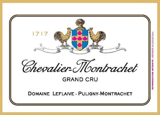 Domaine Leflaive Chevalier-Montrachet Grand Cru 2018  Front Label