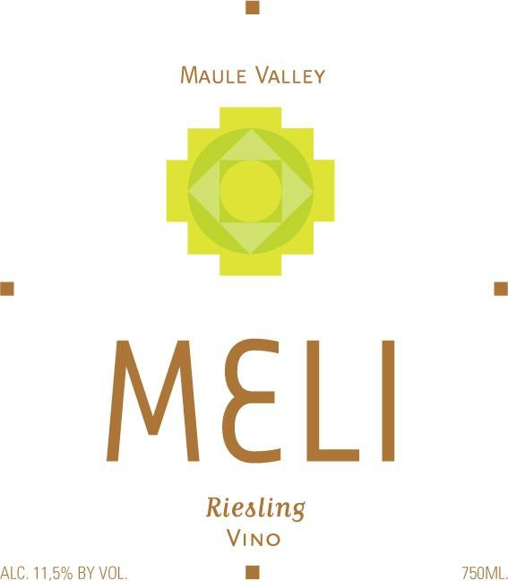 MELI Riesling 2018 Front Label