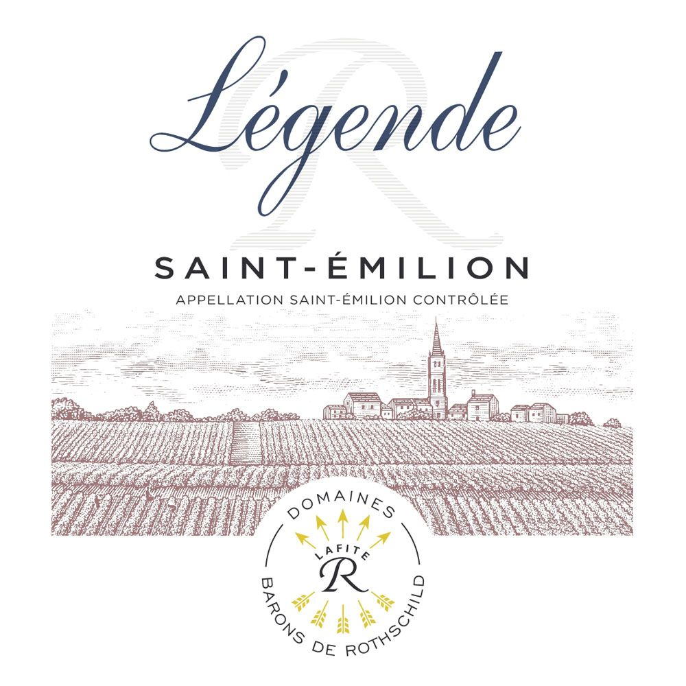 Domaines Barons de Rothschild Legende Saint Emilion 2016  Front Label
