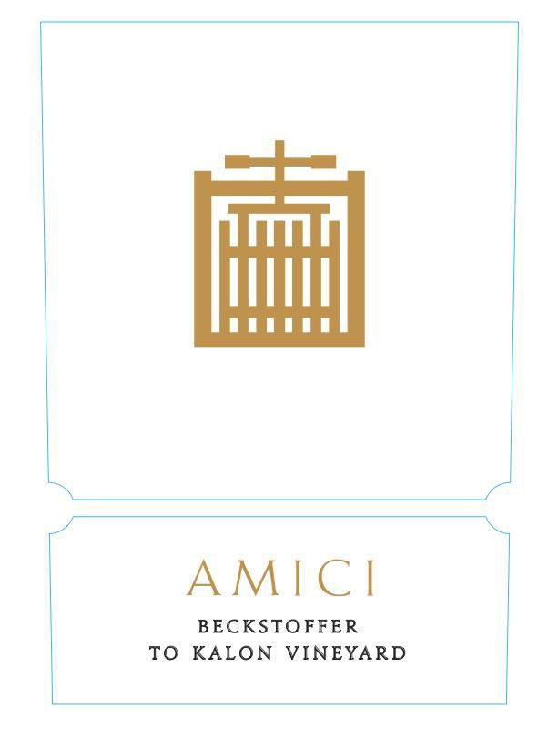 Amici Beckstoffer To Kalon Vineyard Cabernet Sauvignon 2017  Front Label