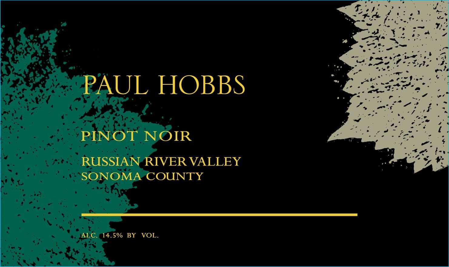 Paul Hobbs Russian River Pinot Noir 2017  Front Label