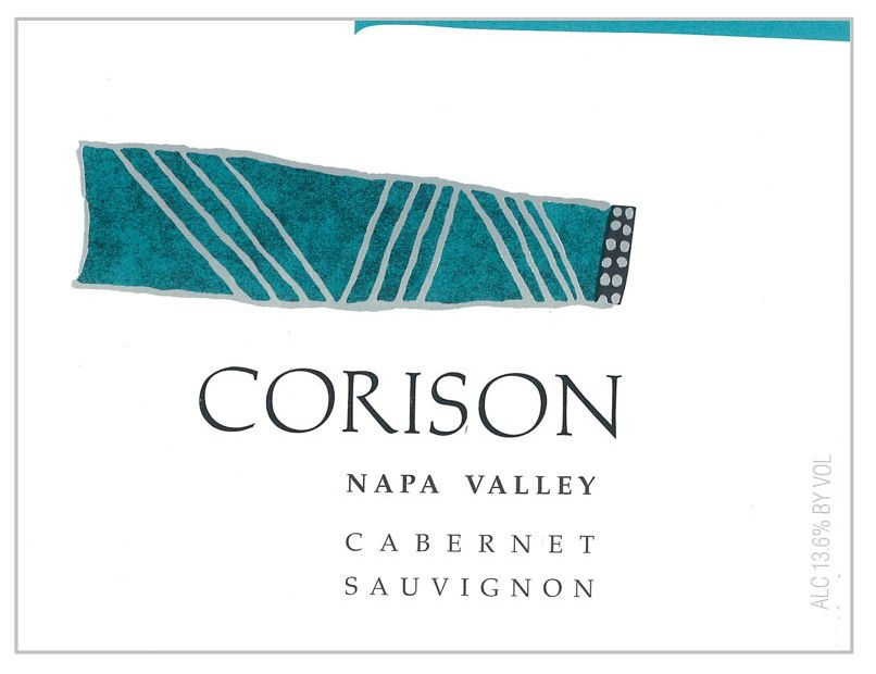 Corison Cabernet Sauvignon (375ML half-bottle) 2016  Front Label