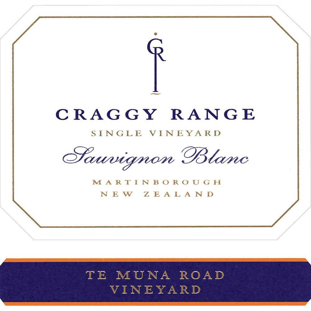 Craggy Range Winery Te Muna Road Vineyard Sauvignon Blanc 2019  Front Label