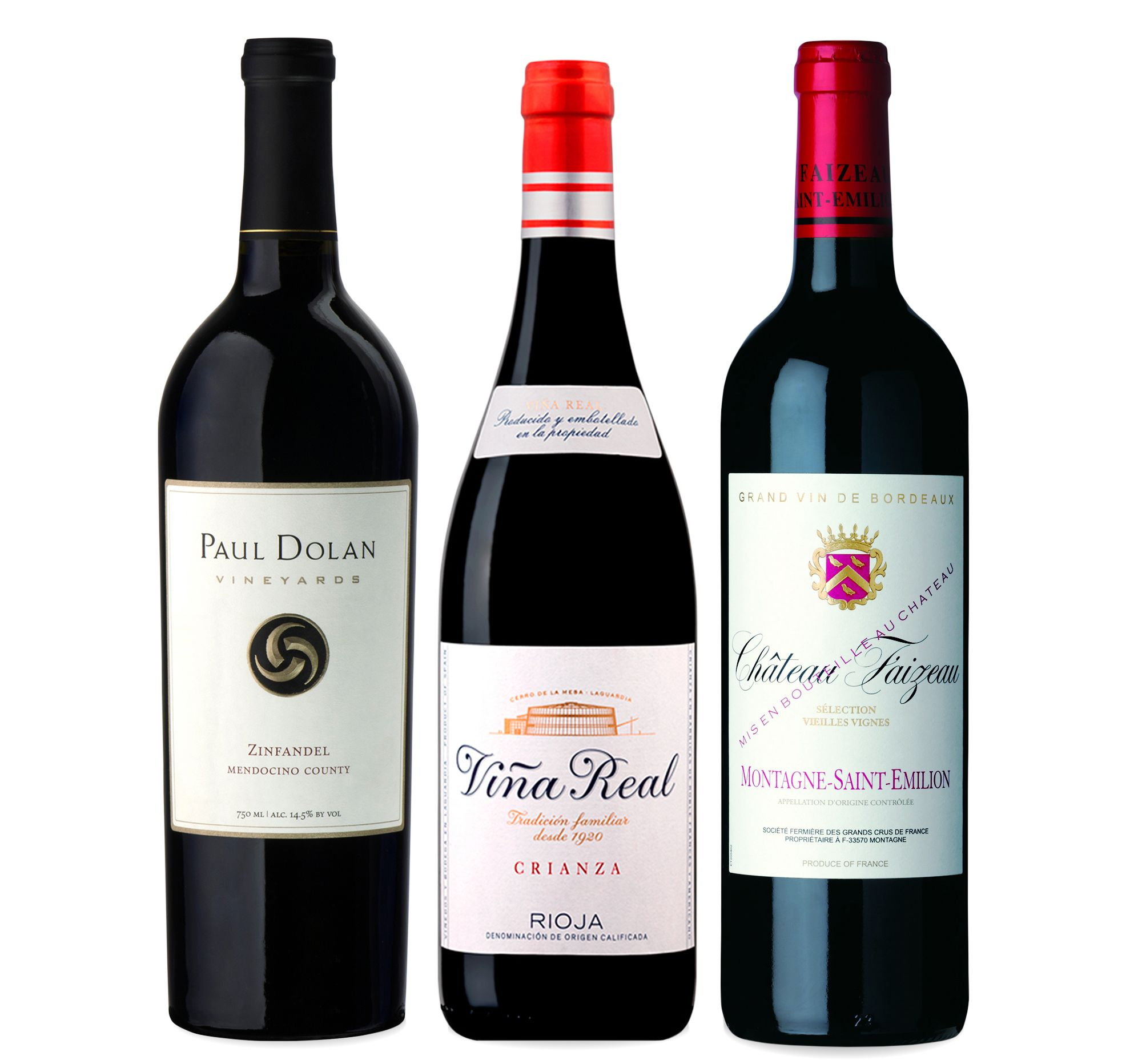 wine.com 90 Point Red Wine Gift Set Gift Product Image