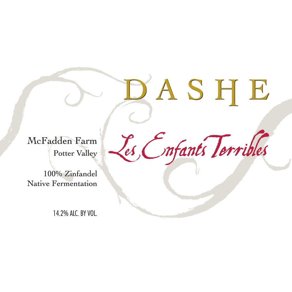 Dashe McFadden Farm Les Enfants Terribles Zinfandel 2016  Front Label