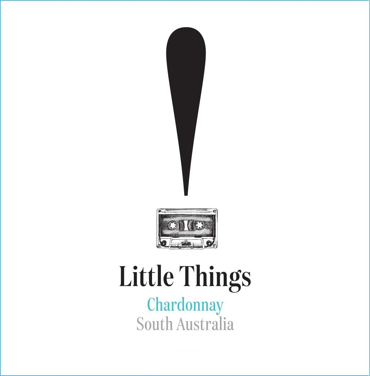 Little Things Chardonnay 2017 Front Label
