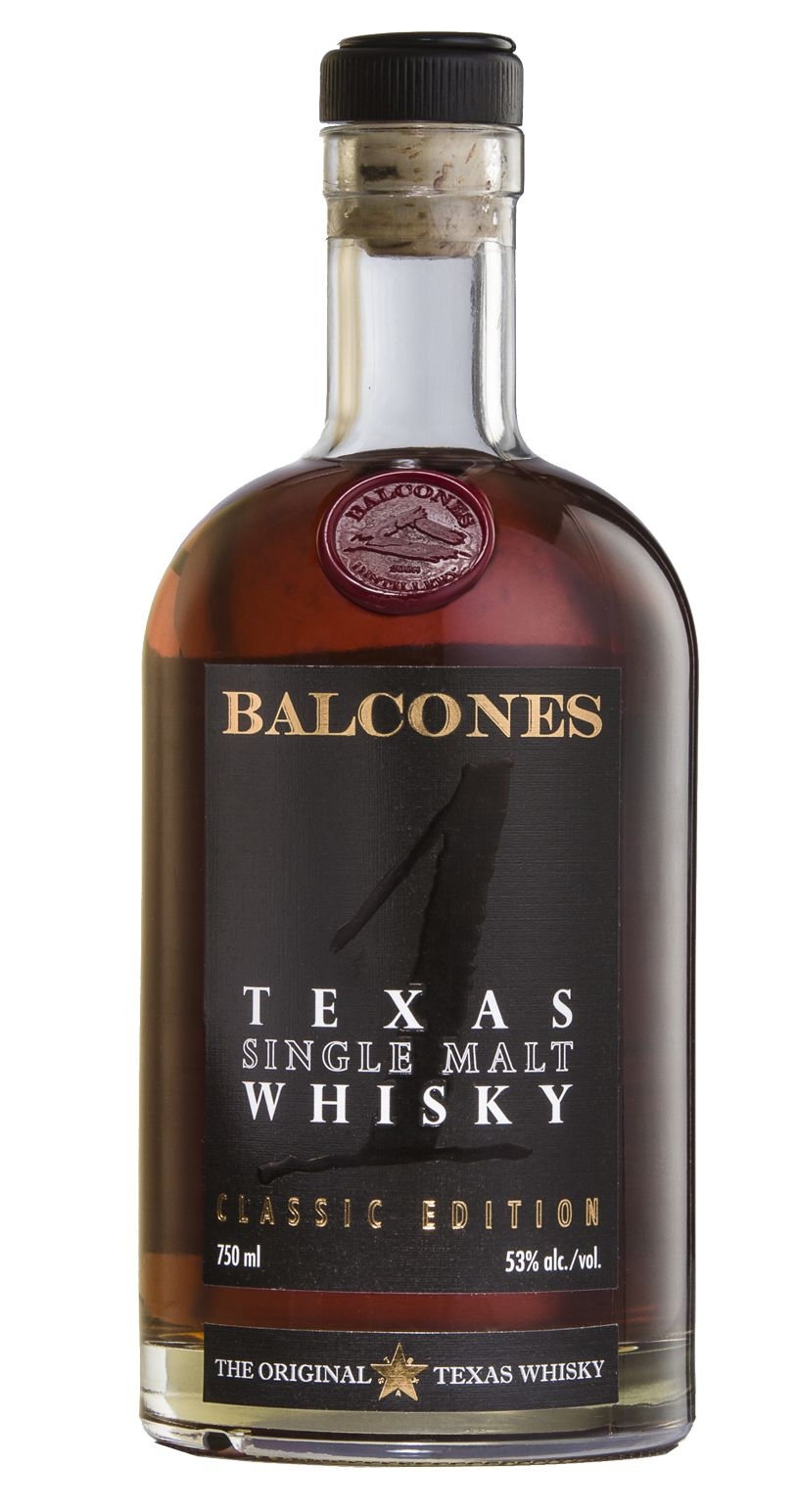 Balcones 1 Texas Single Malt Whisky Front Bottle Shot