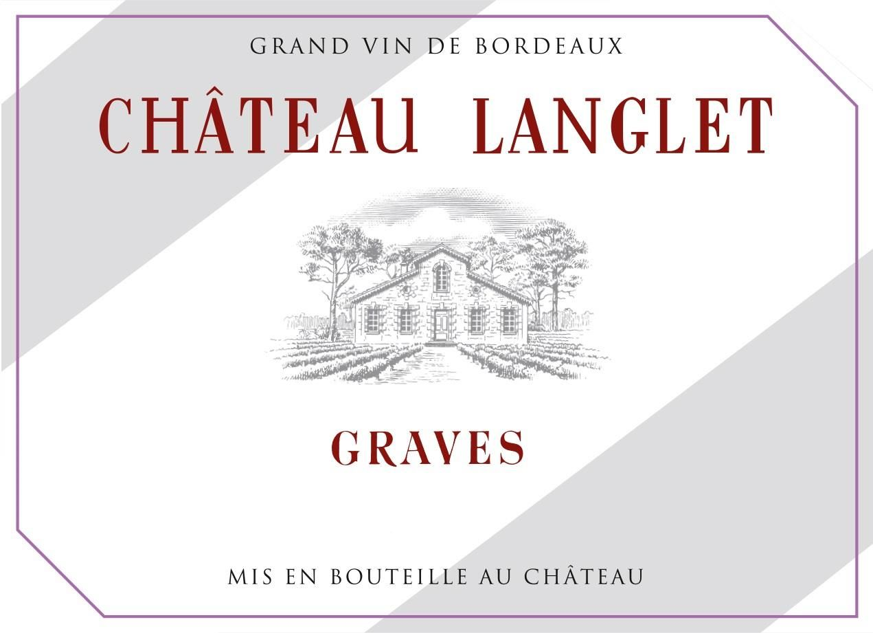 Chateau Langlet  2015  Front Label