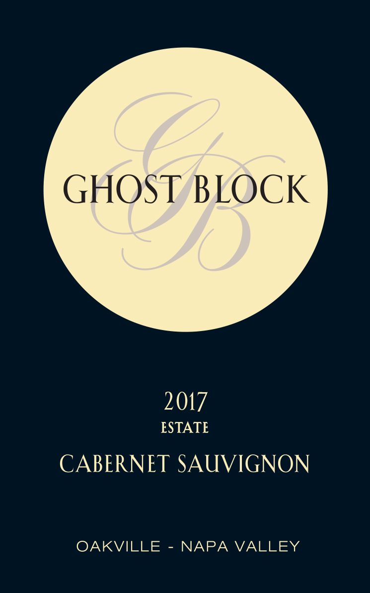 Ghost Block Oakville Estate Cabernet Sauvignon 2017  Front Label