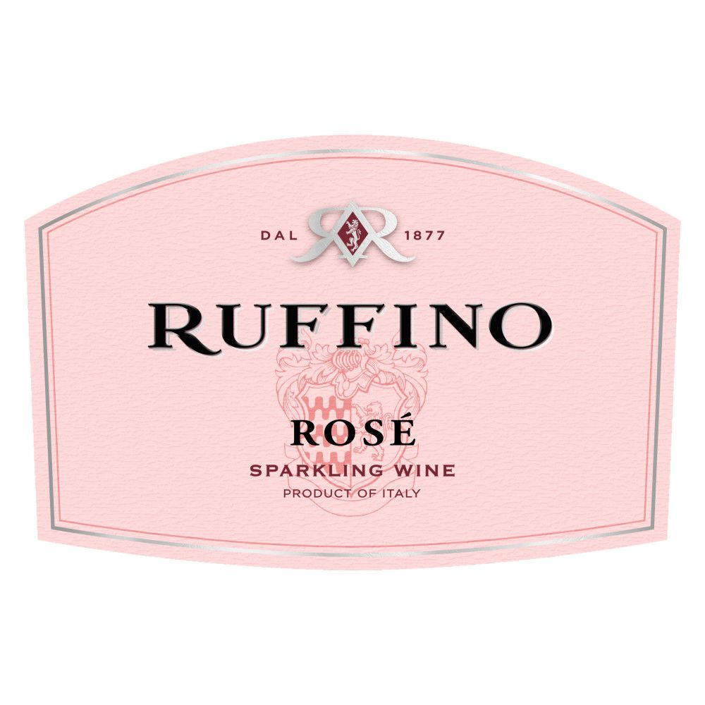 Ruffino Sparkling Rose  Front Label