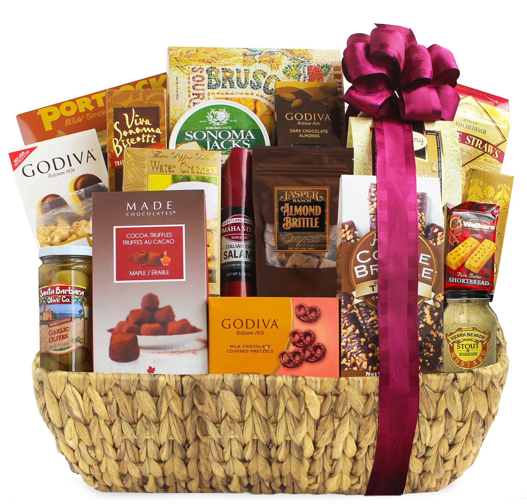 wine.com Grand Gourmet Gift Basket  Gift Product Image