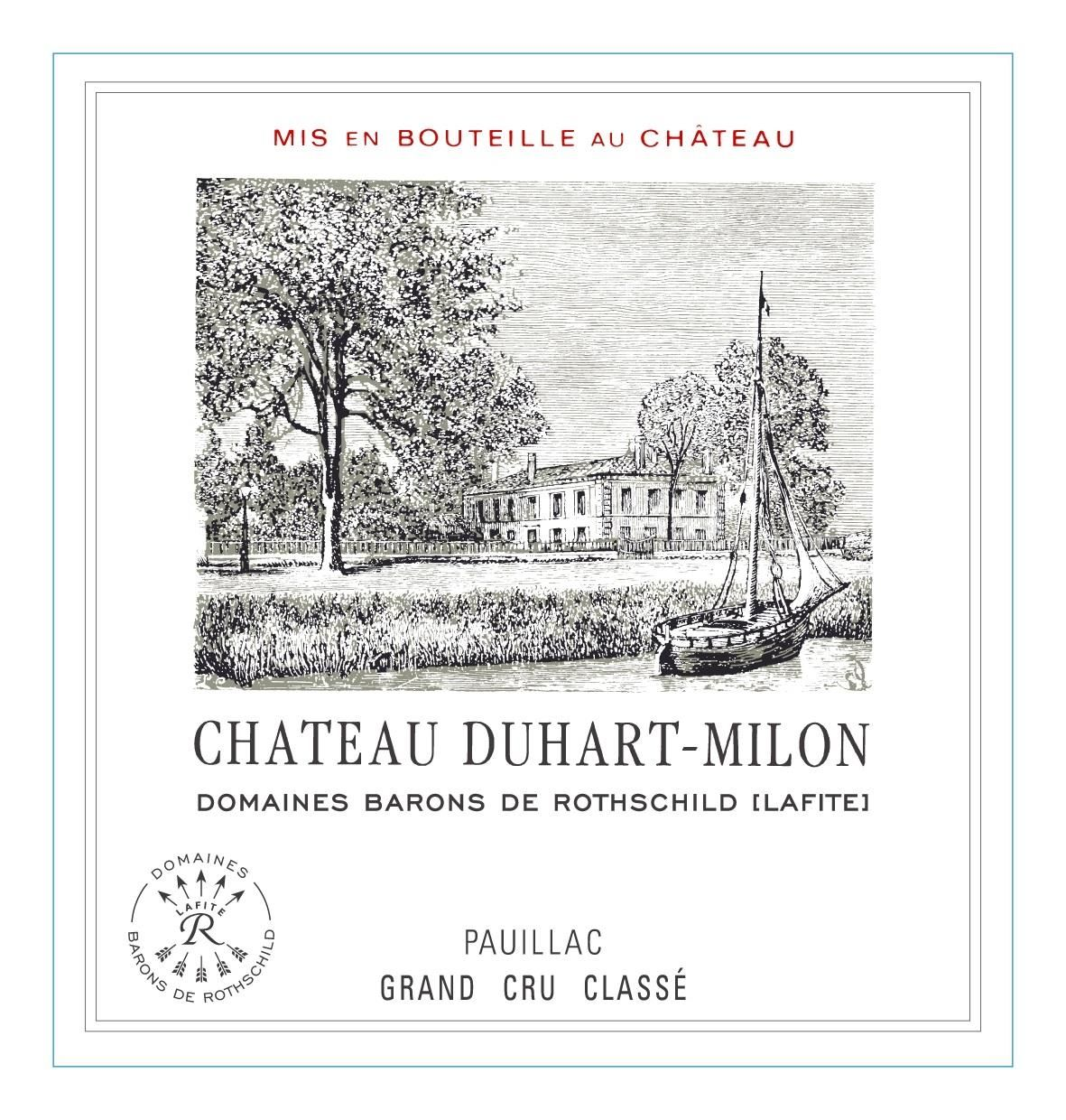 Chateau Duhart-Milon (Futures Pre-Sale) 2018  Front Label