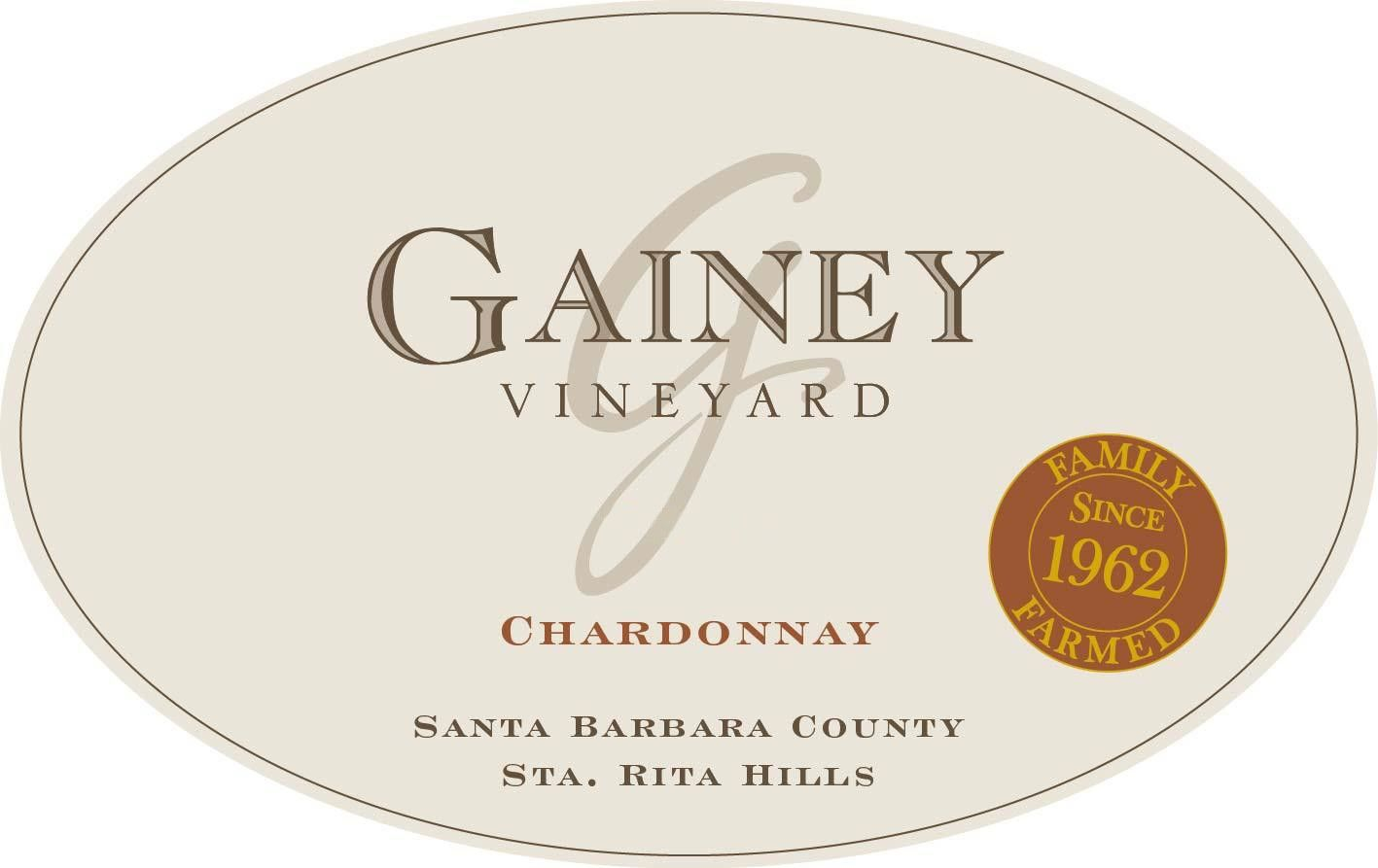Gainey Chardonnay 2018  Front Label