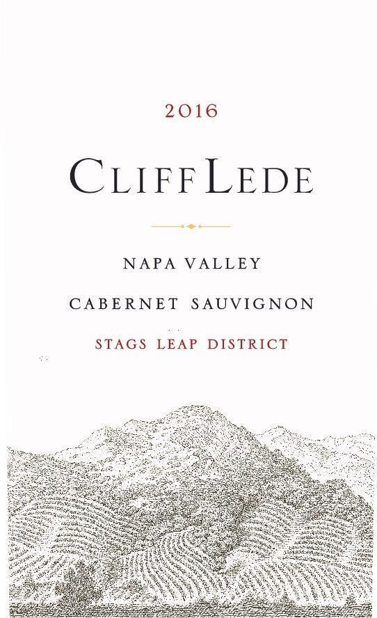 Cliff Lede Stags Leap District Cabernet Sauvignon 2016 Front Label