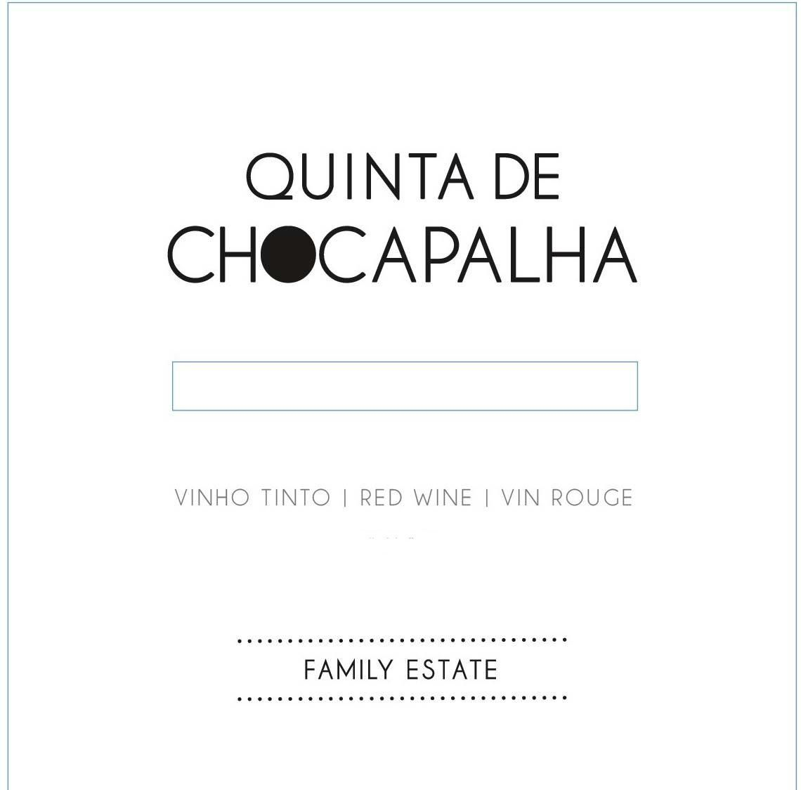 Quinta de Chocapalha Red 2015  Front Label