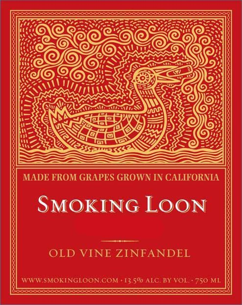 Smoking Loon Old Vine Zinfandel 2016 Front Label