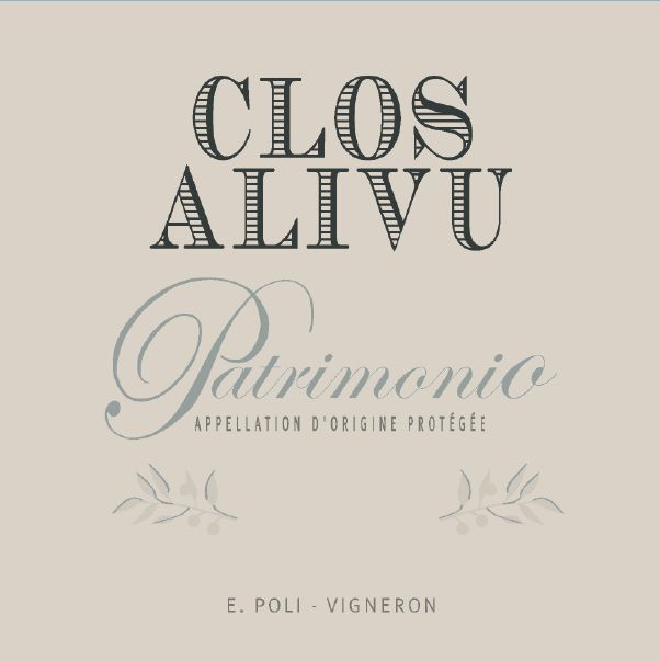 Clos Alivu Rose 2019  Front Label