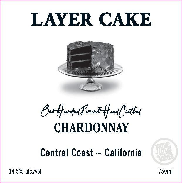 Layer Cake Chardonnay 2017 Front Label