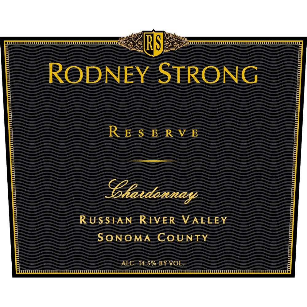 Rodney Strong Reserve Chardonnay 2015  Front Label