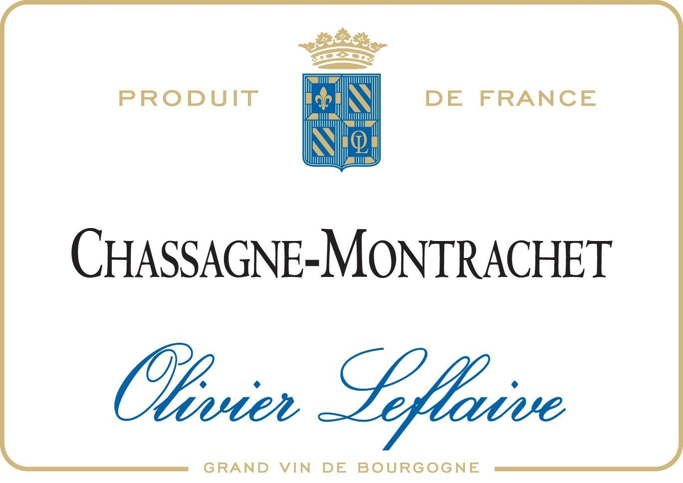 Olivier Leflaive Chassagne-Montrachet 2017  Front Label