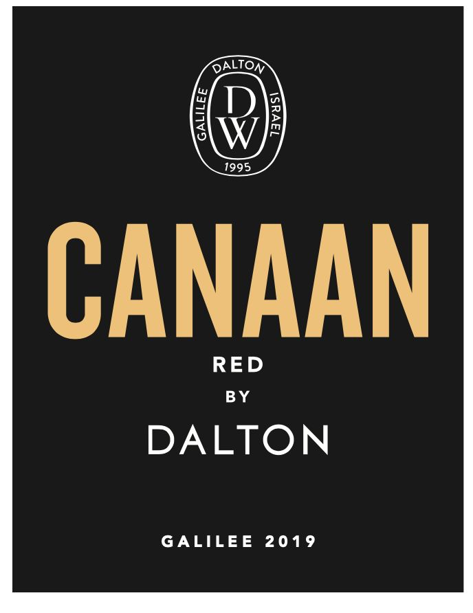 Dalton Estate Canaan Red (OU Kosher) 2019  Front Label