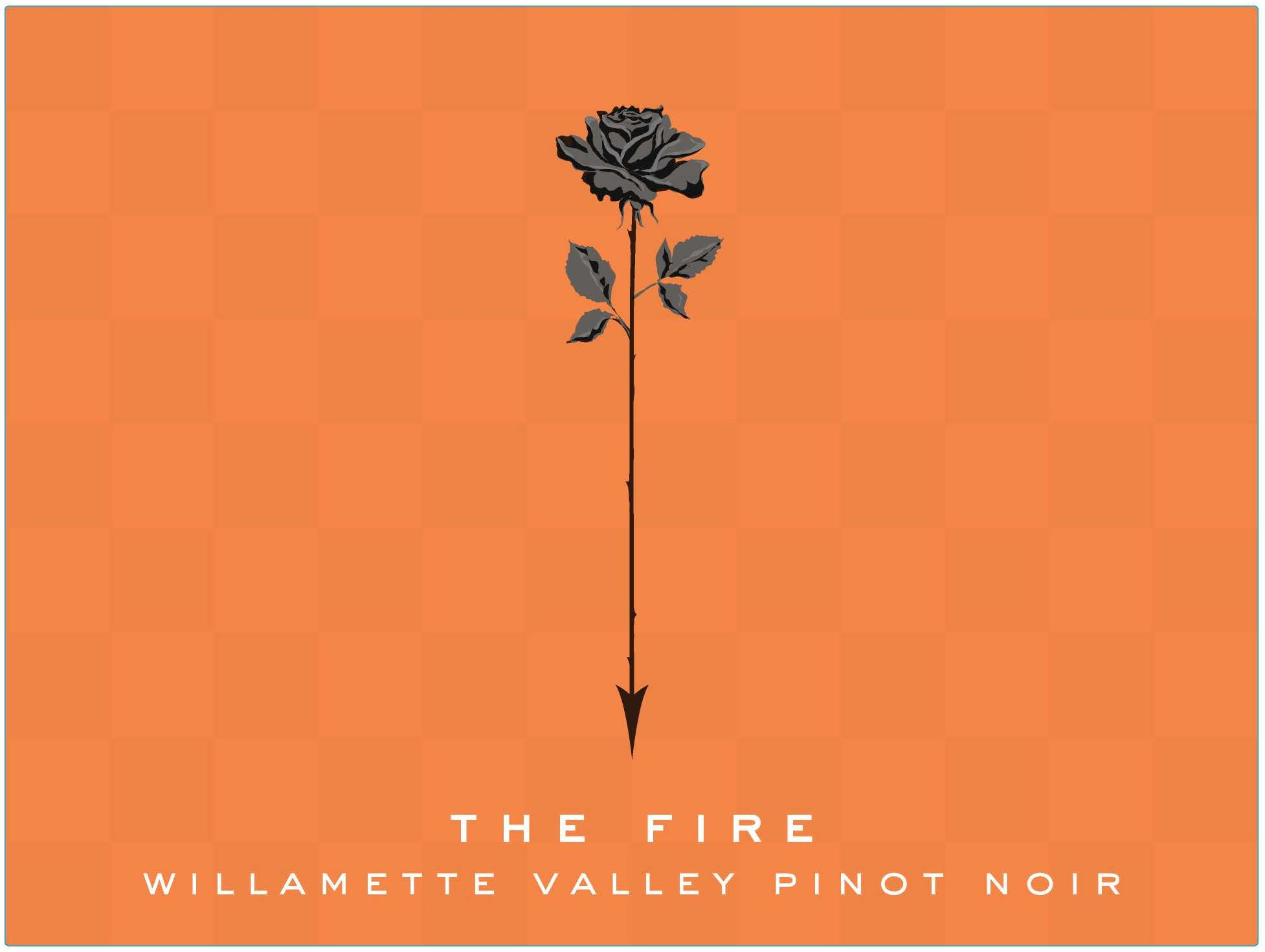 Chapter 24 The Fire Pinot Noir 2015  Front Label